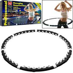 Массажный Обруч с магнитами MASSAGING HOOP EXERCISER 1,3 кг